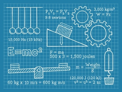 Physics, Science, School, Blueprint